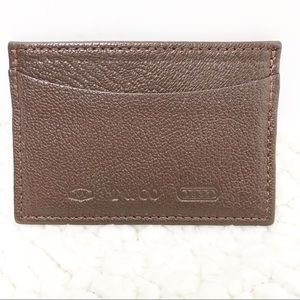 Tiffany & Co. | Brown Leather Card Holder